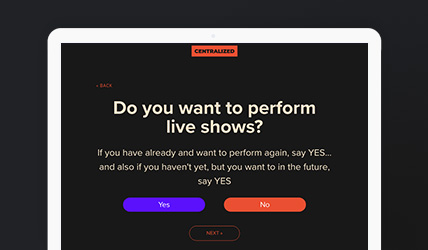 Centralized.me - Artist Management From A to Z